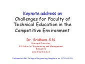 Challenges for faculty of technical education   slide share