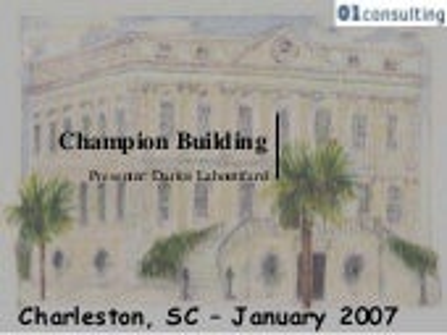 Champion building