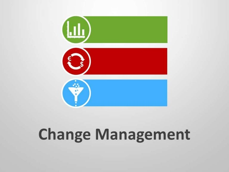 Change management ppt template toneelgroepblik Images