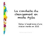 Change management agile