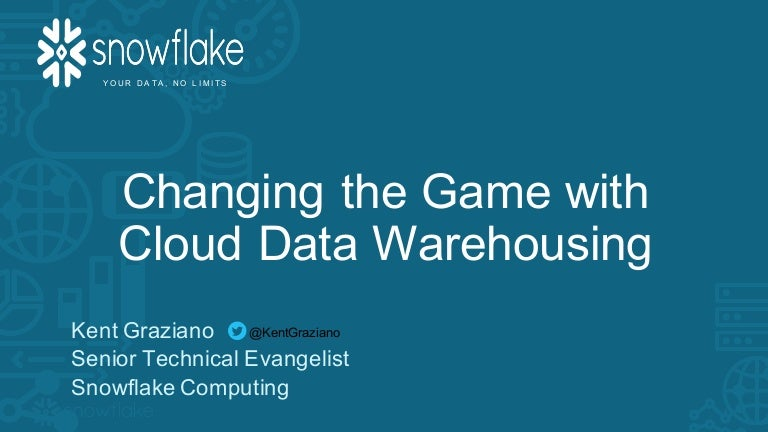 Changing the game with cloud dw