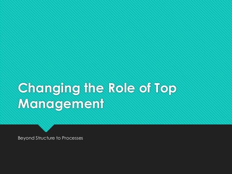 opțiune de top management