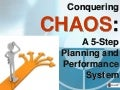 Chaos presentation @ Rapid Results Marketing Workshop