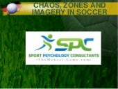 Chaos, zones and imagery in soccer