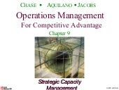 operations management chap 1 The three primary functions are operations, finance, and marketing operations is concerned with the creation of goods and services, finance is concerned with provision of funds necessary for operation, and marketing is concerned with promoting and/or selling goods or services.