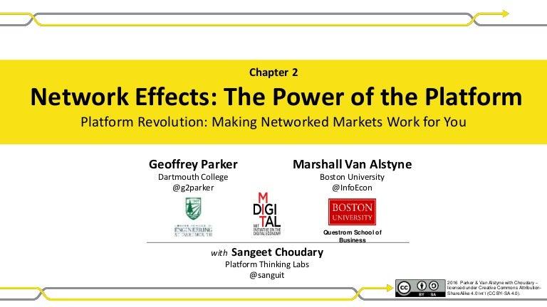 Platform Revolution - Ch 02 Network Effects: Power of the Platform