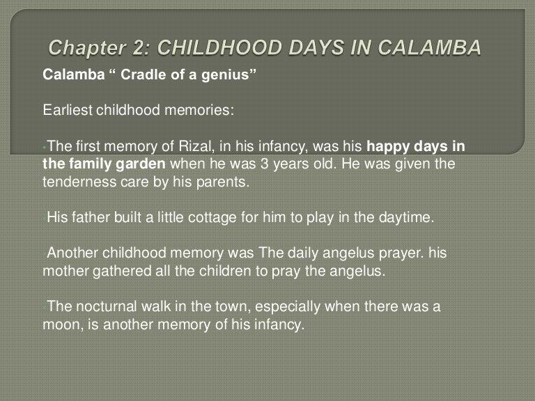 rizal works and writings summary