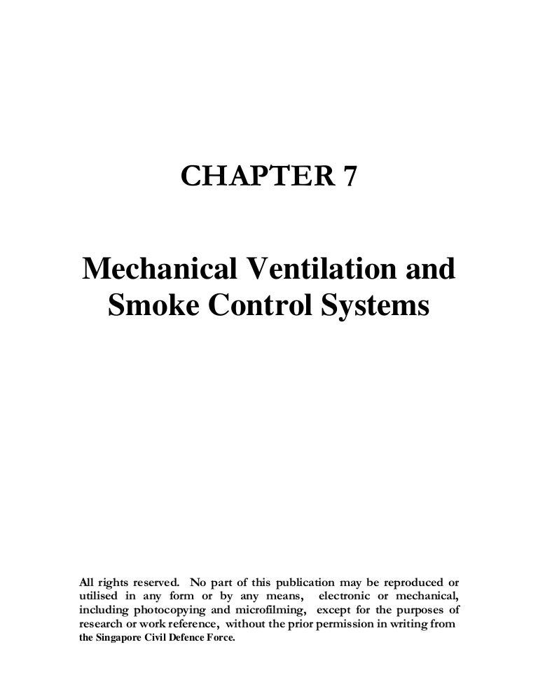 Chap 7 Ventilation And Smoke Purging System