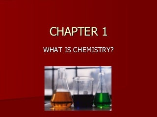 Introductory Chemistry Chapter 1 Power Point