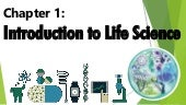 Introduction to Life Science and The Theories on the Origin of Life