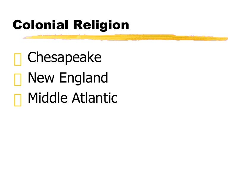 new england and chesapeake factors influencing His/115 compare european settlements in new england, the middle colonies, the chesapeake, and the south in terms of goals, governments, social structures, and religions.