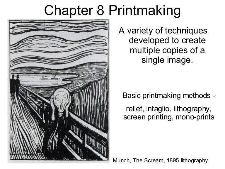 Kcc Art 211 Ch 8 Printmaking Ch 9 Camera Ch 10 Graphic Design