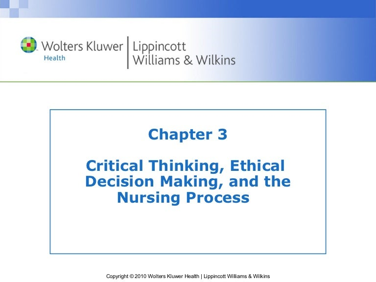 clinical decision making in nursing essay
