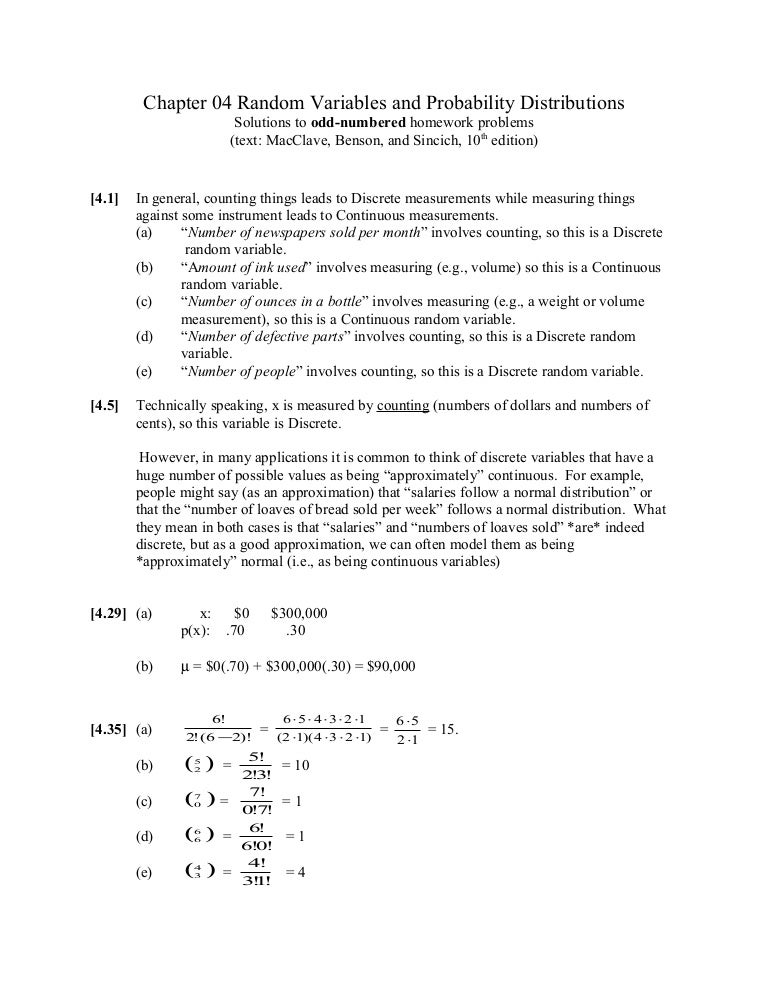 Chapter 04 answers
