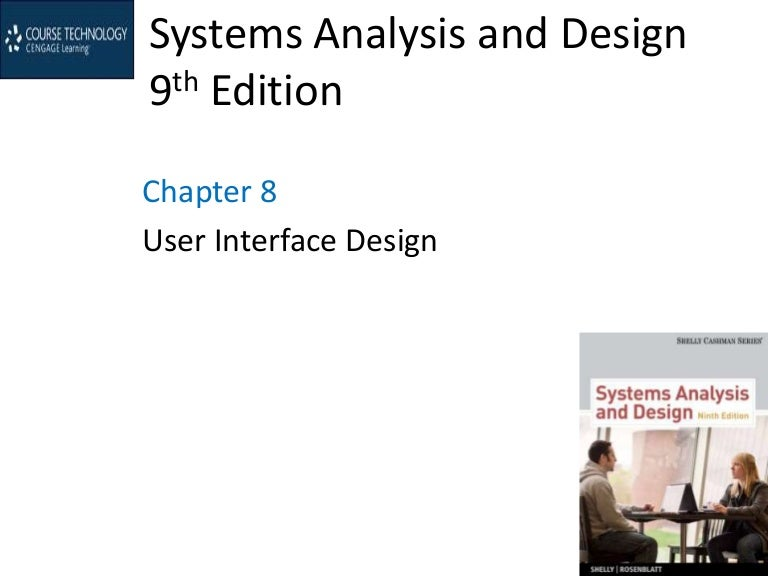 User Interface Design Chapter 08