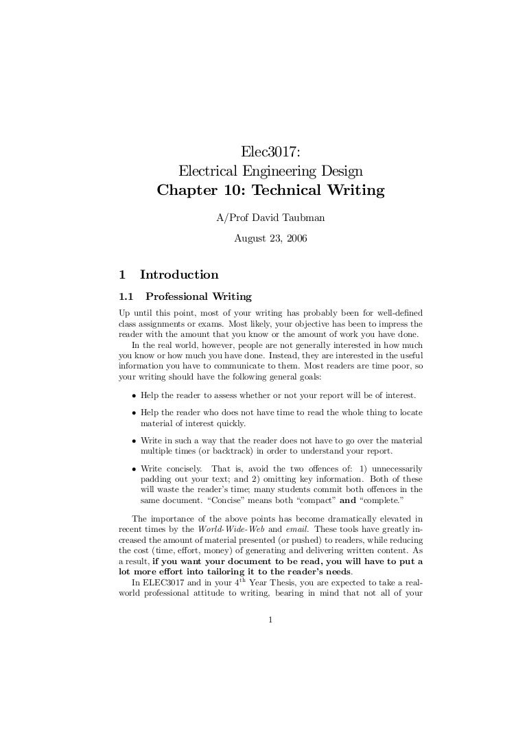 Chapter10 technical-writing