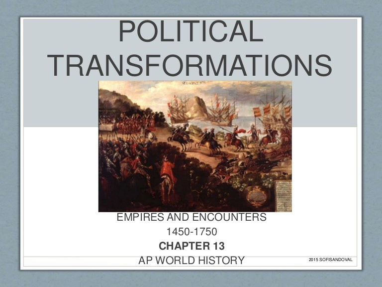 the changes in the world from 1450 to 1750 essay Ap world history 1450-1750 renaissance the great period of rebirth in art, literature, and learning in the 14th-16th centuries, which marked the transition into the modern periods of european history.