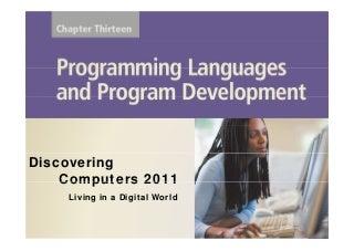 Programming Languages and Program Develompent