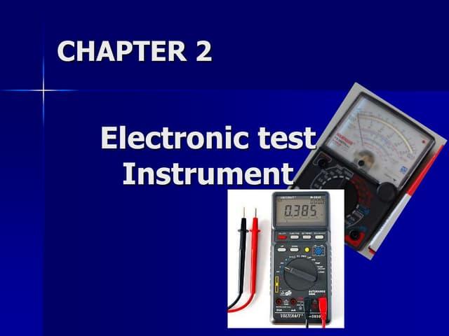 Electronic Multi-Tester