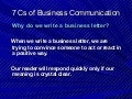 Chapter 2, 7 cs of_business_communication_a
