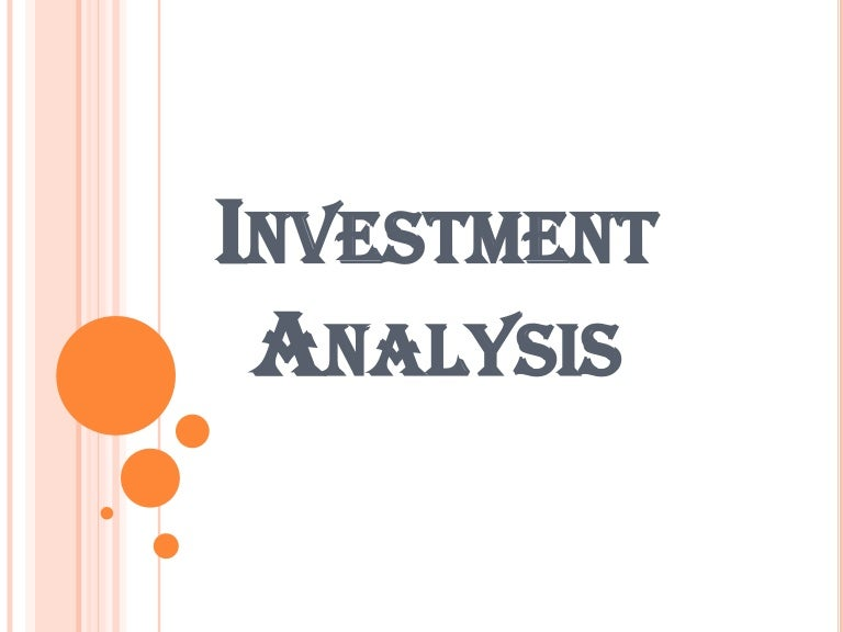 Investment Analysis