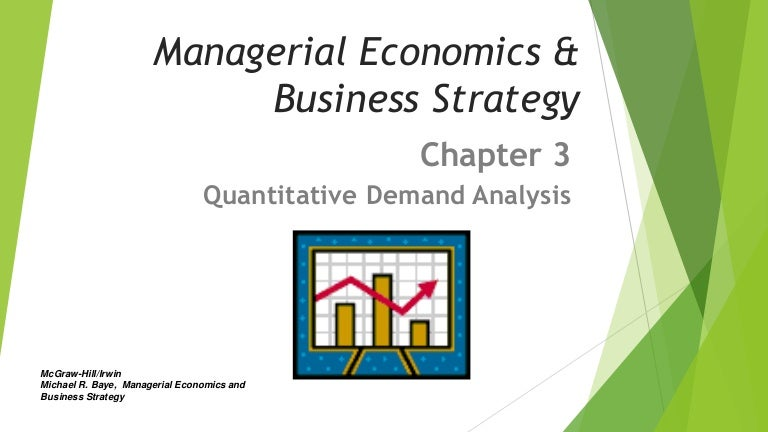 managerial economics and business strategy Sixth edition managerial economics and business strategy michael r baye bert elwert professor of business economics and public policy kelley school of business.