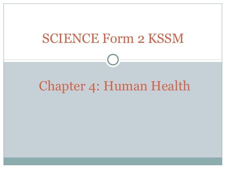 Chapter 4 Science Form 2 Kssm