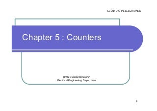 Chapter 5 counter