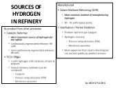 Chapter 5f -sources_of_hydrogen_in_refinery_latest