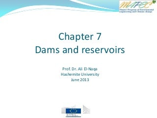 Chapter 7 dams and reservoirs