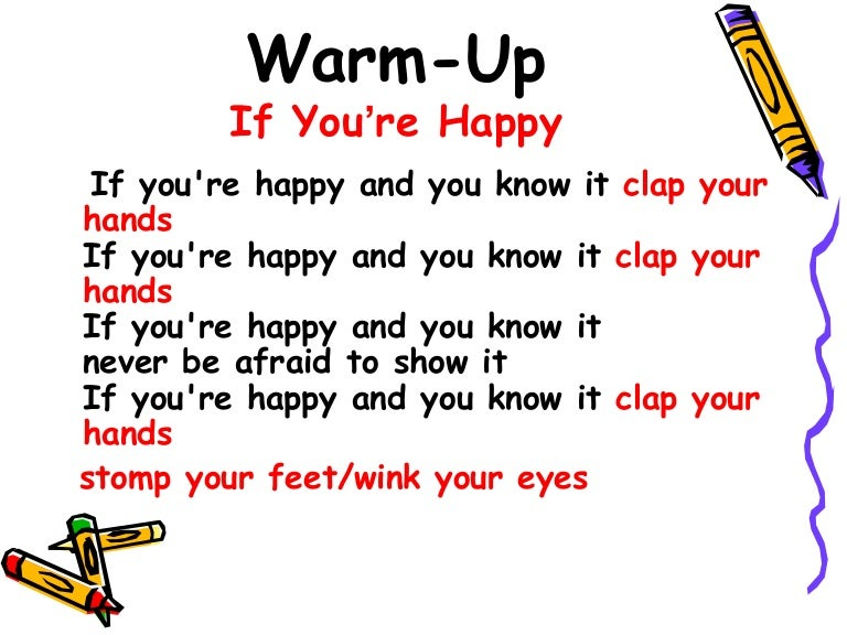 if your happy and you know clap your hands - 638×479
