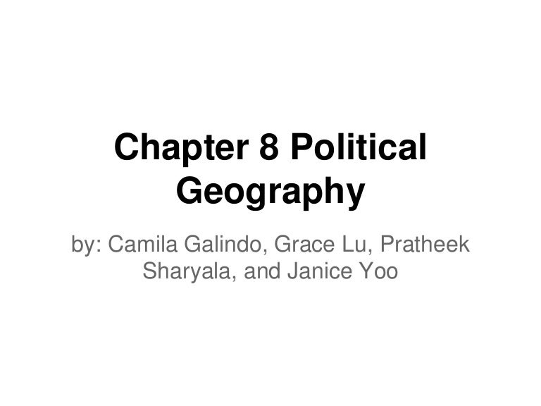 Of States 8 Political Geography Chapter Shapes