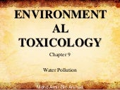 Chapter 9 water pollution