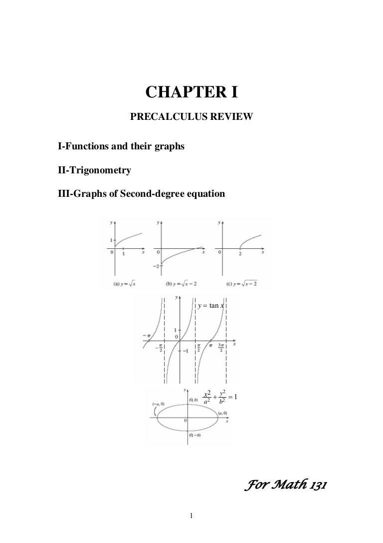 Chapter 1 (math 1)