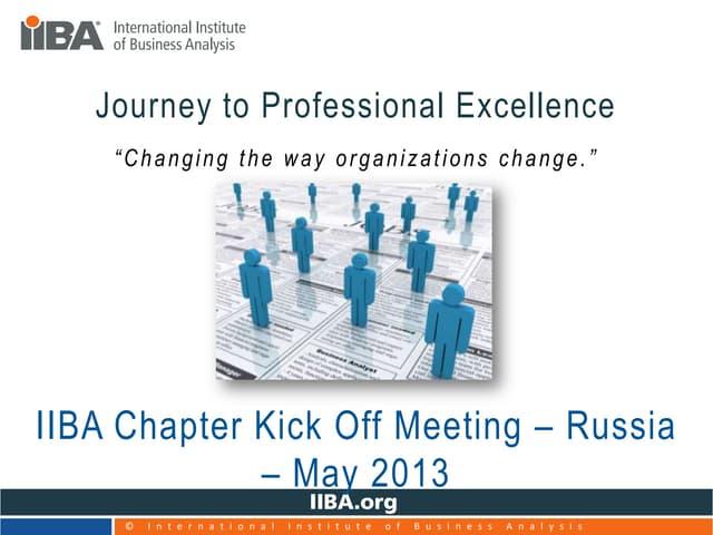Chapter kick off presentation   russia 2013[1]