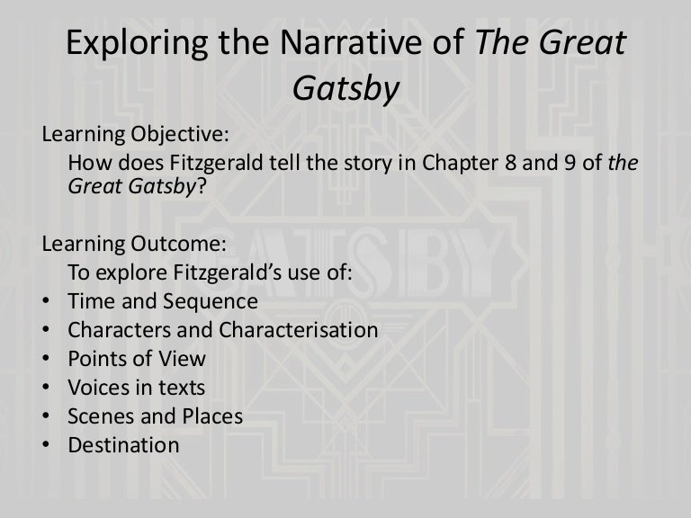 the great gatsby chapters and