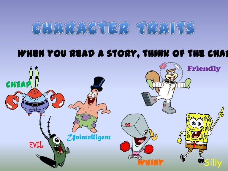 characters traits and functions by jamee summers