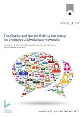 Charity employees and volunteers speak out: new research