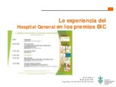 Premios Best in Class. Responsabilidad Social. RSC. Hospital General
