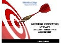 Charles - Advancing information literacy: ensuring accountability via assessment