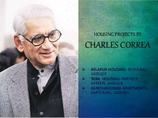 Charles correa - housing projects