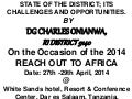 Charles: state of the district presentation