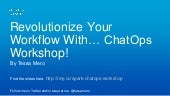 ChatOps Workshop