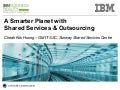 A Smarter Planet with Shared Services & Outsourcing