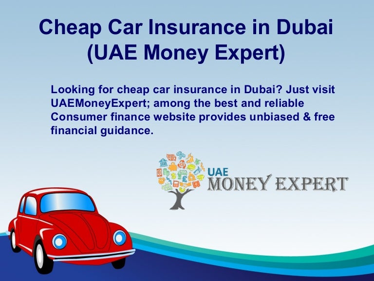 Cheap Car Insurance in Dubai - UAEMoneyExpert