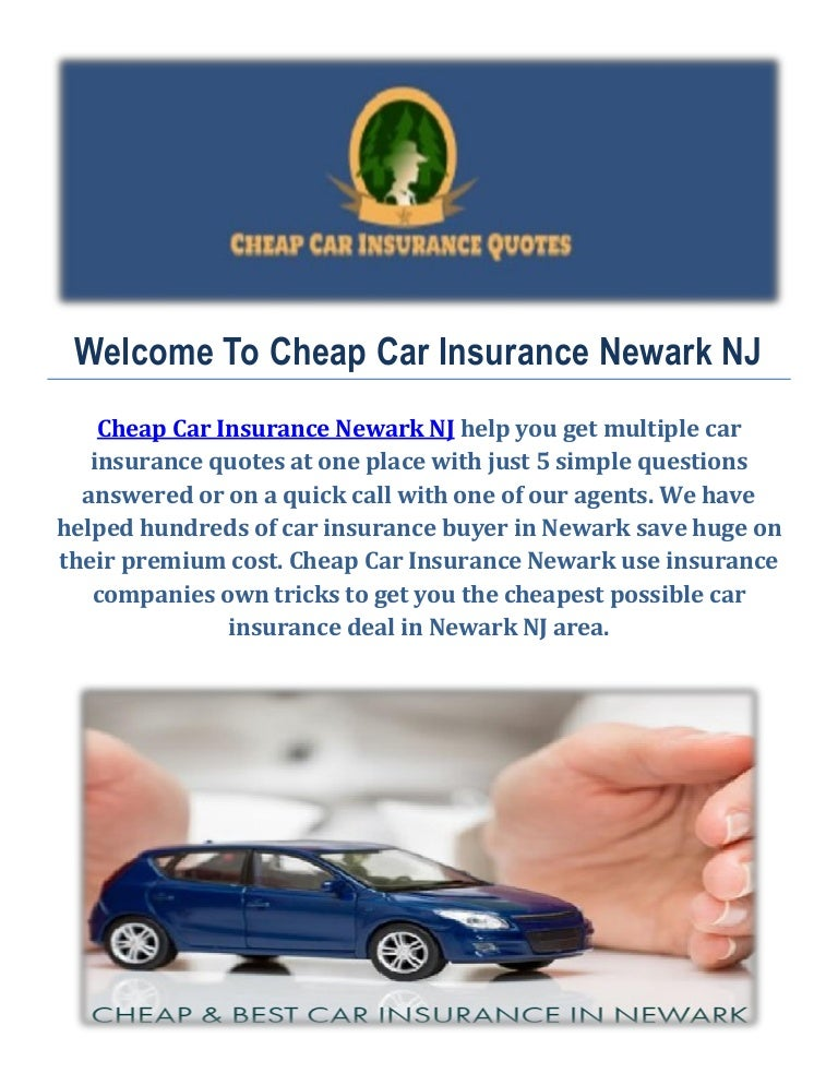 Cheap Best Car Insurance Agency In Newark Nj