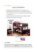 Special ! Caribou Bunk Bed .