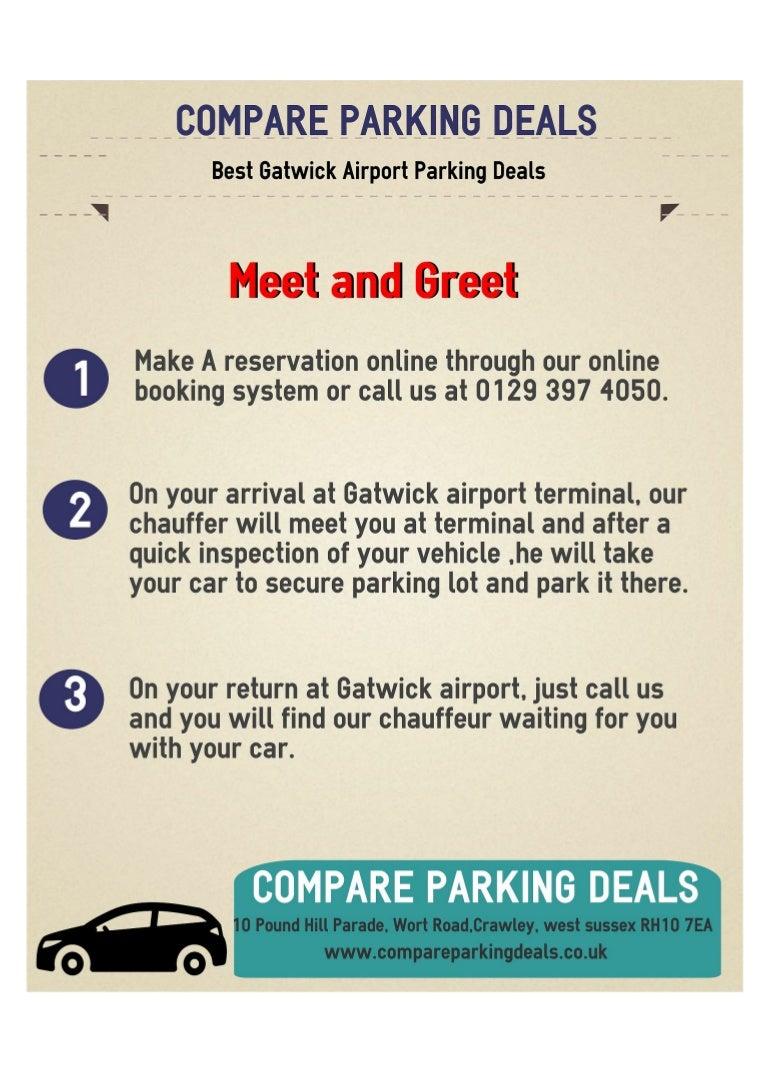 Cheap Gatwick Parking Deals