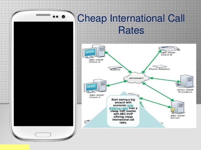 Cheap international call rates