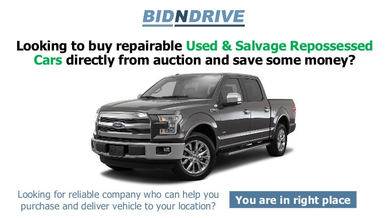 Repossessed Cars For Sale At Auction